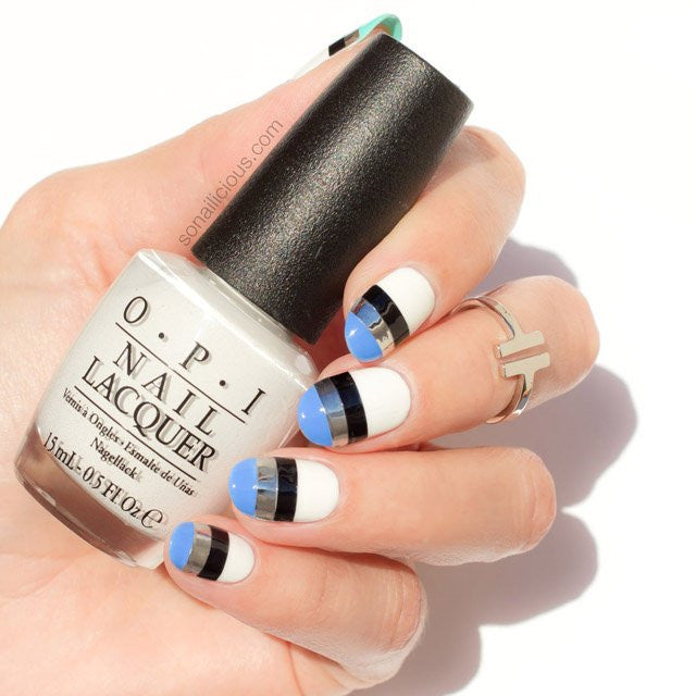Nail Art Using Striping Tape: Nail Art Striping Tape, Extra Wide