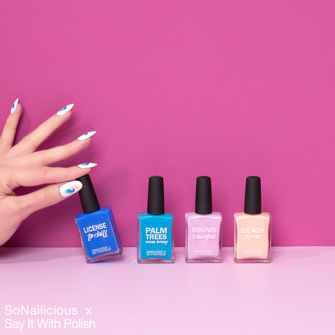 Say it with polish nail polish colours