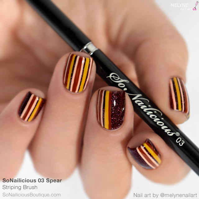The SoNailicious Brush #3 SPEAR - Striping Nail Art Brush - BACK IN STOCK!