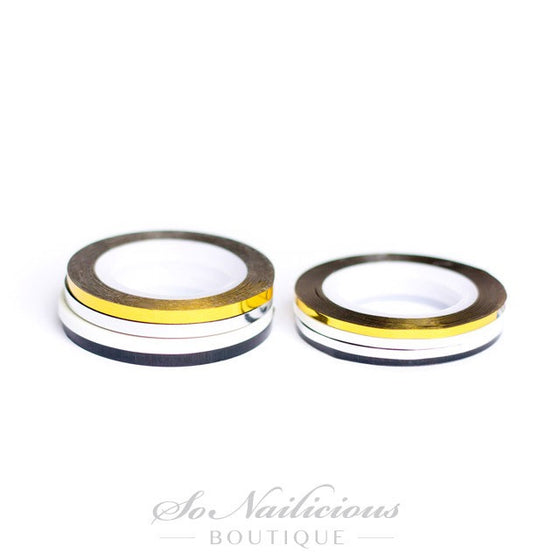 Nail Art Striping Tape, Extra Wide -  4 Colours