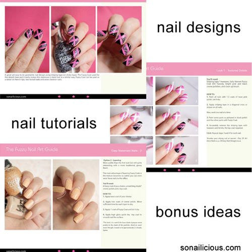The Fuzzy Nail Art Guide E-Book