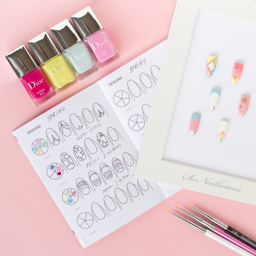 The Little Book Of Nail Art - Oval Nails - SoNailicious Boutique
