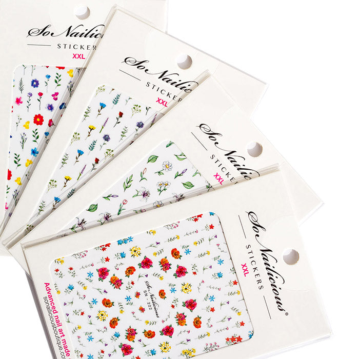 Wildflower Nail Sticker Set