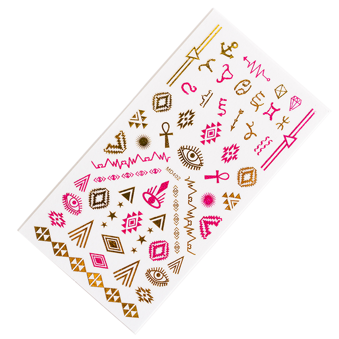 zodiac nail stickers