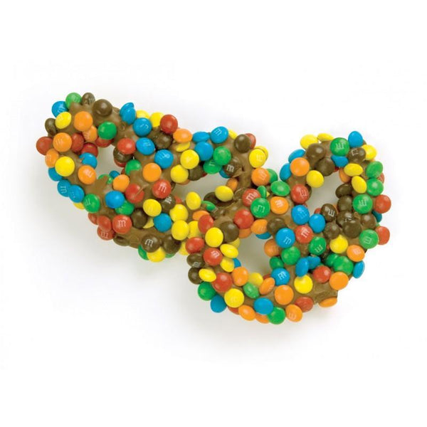 M&M's Pretzels (3 inch) - Jackie's Chocolate