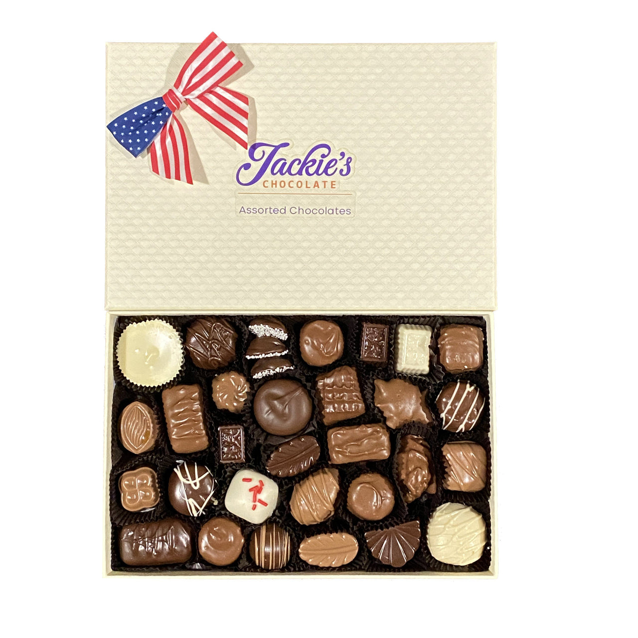 4th of July Assorted Chocolate Gift Box (4535257071731)