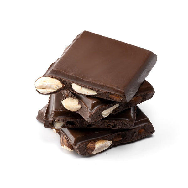 No Sugar Added Dark Chocolate Almond Bark (516441014307)