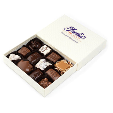 Sugar Free Nuts and Caramels Chocolate Assortment (1619916226595)