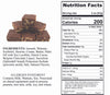 Sugar Free Chocolate Walnut Fudge - Jackie's Chocolate