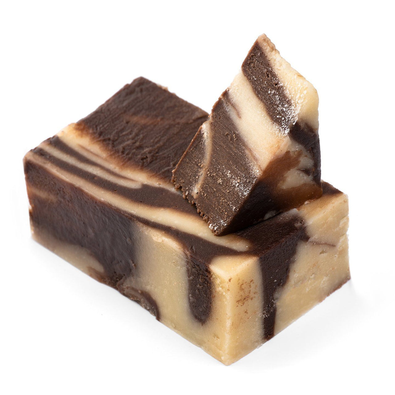 Chocolate Vanilla Swirl Fudge (1790175707171)
