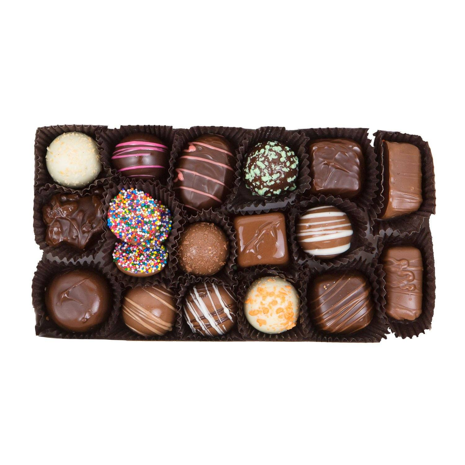Gifts for Chocolate Lovers - Assorted Chocolate Gift Box - Jackie's Chocolate (1487136981027)