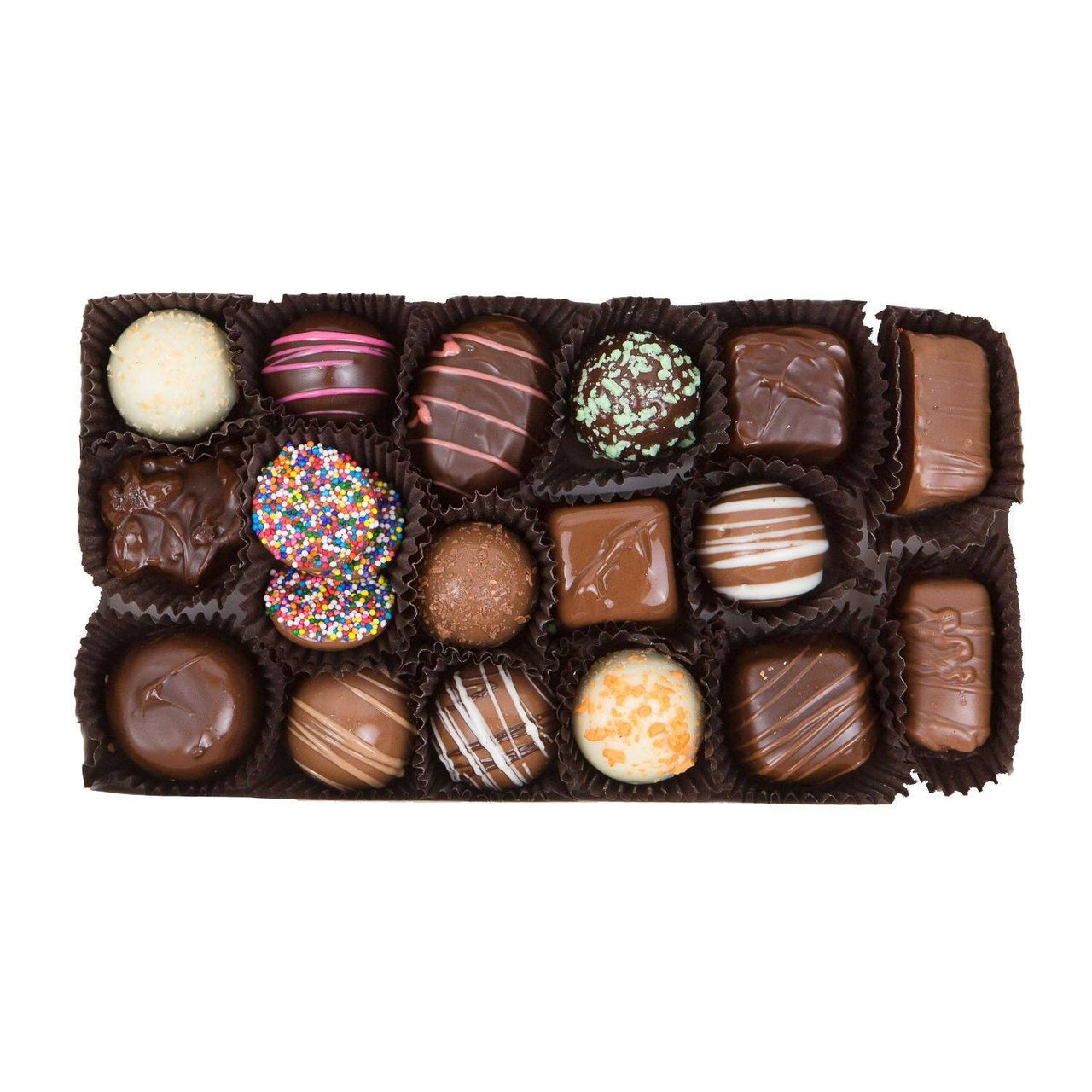 Secret Santa List - Chocolate Assortment Gift Box - Jackie's Chocolate (4336367534195)
