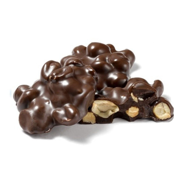 Sugar Free Dark Chocolate Peanut Cluster - Jackie's Chocolate (1776192454691)