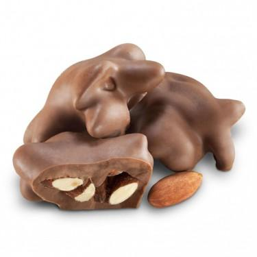 Sugar Free Milk Chocolate Almond Clusters - Jackie's Chocolate (516435279907)