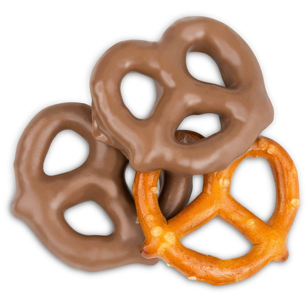 Sugar Free Mini Milk Chocolate Pretzels - Jackie's Chocolate (1500893806627)