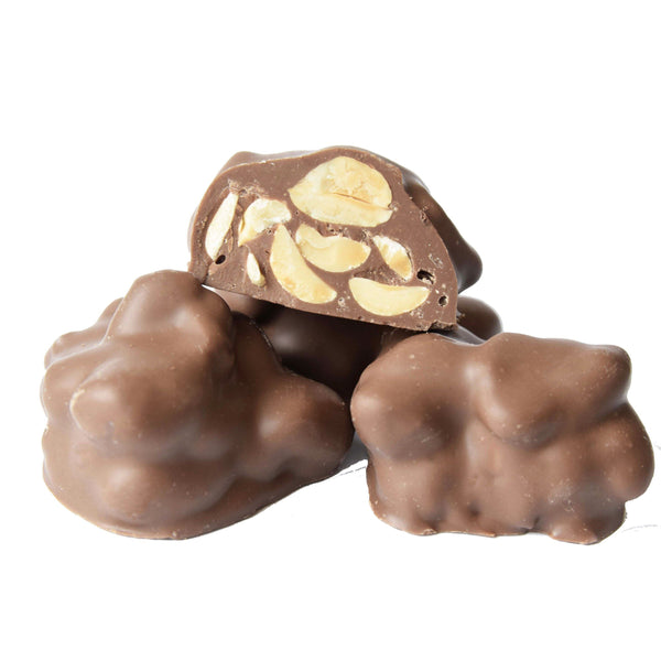 Sugar Free Milk Chocolate Peanut Cluster - Jackie's Chocolate