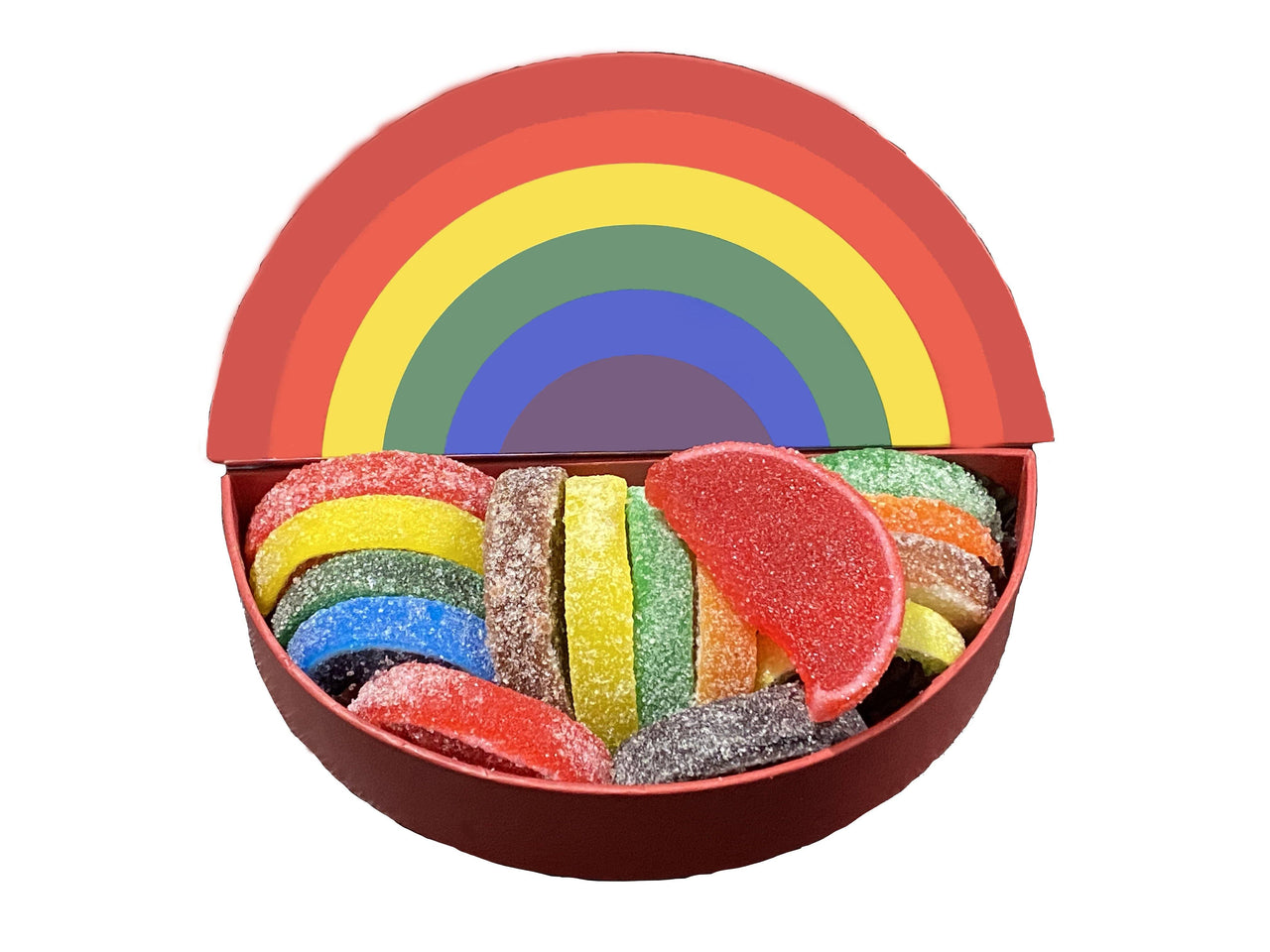 PRIDE Candy Slices with Rainbow Novelty Box (4476379005043)