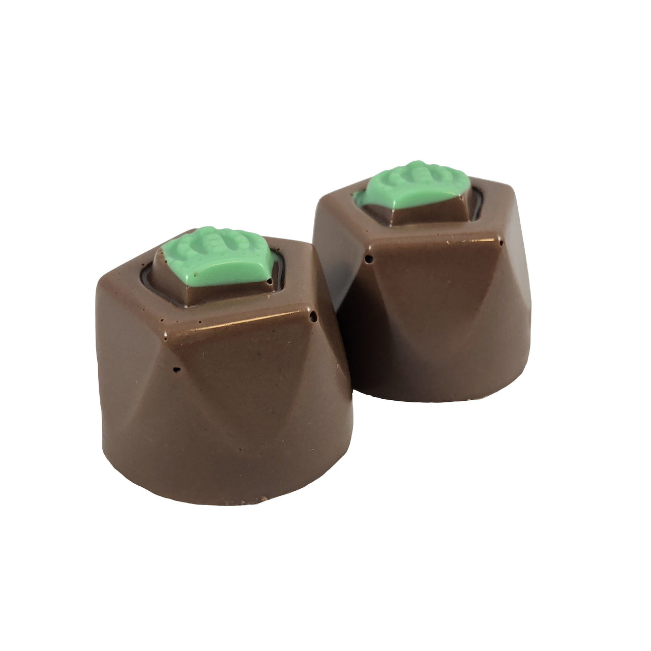 Sugar Free Milk Chocolate Mint Truffle - Jackie's Chocolate