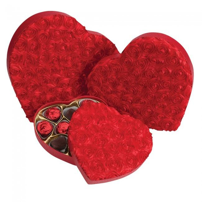 SUGAR FREE Valentine's Day Gift Heart Box Chocolate Assortment (1 lb) - Jackie's Chocolate