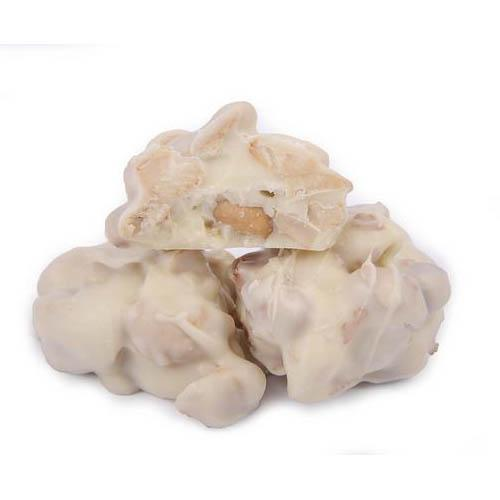 No Sugar Added White Chocolate Cashew Cluster - Jackie's Chocolate