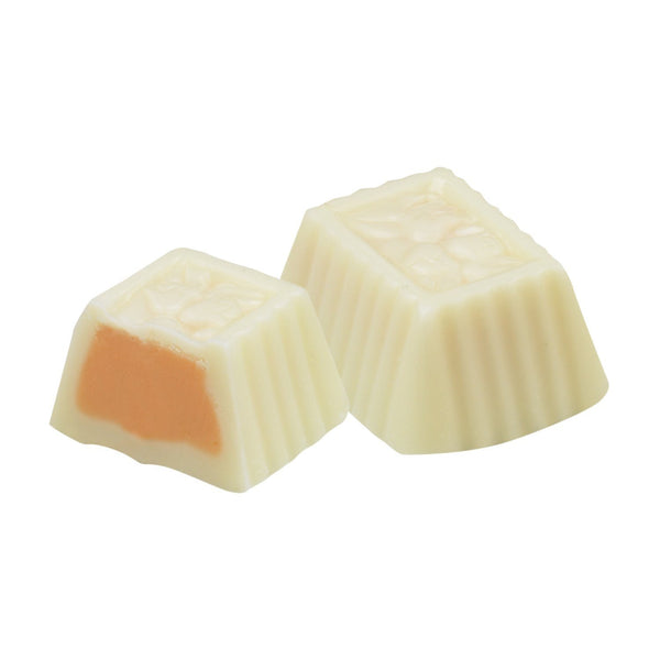 White Chocolate Orange Creamsicle Truffle - Jackie's Chocolate