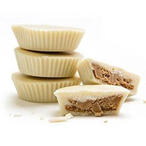 White Chocolate Peanut Butter Cup - Jackie's Chocolate (516443930659)