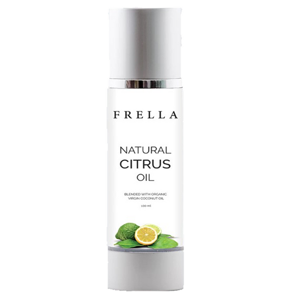 Frella Natural Citrus & Virgin Coconut Hair & Body Oil 100ml
