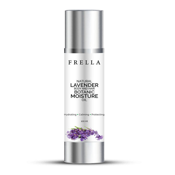 Frella Natural Lavender & Virgin Coconut Hair & Body Oil 100ml