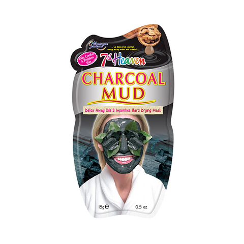 7th Heaven Charcoal Mud Face Mask 15ml in Sri Lanka