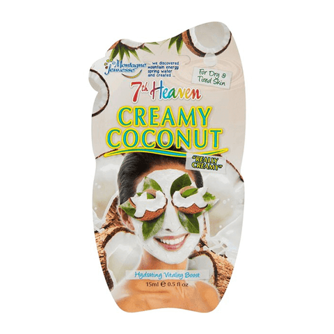 7th Heaven Creamy Coconut Face Mask 15ml For Hydrating Vitality Boost in Sri Lanka