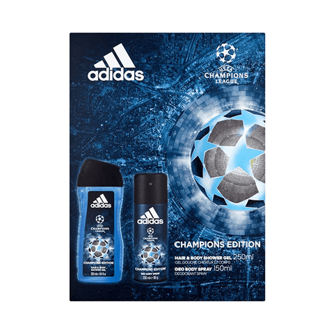 Adidas UEFA Body Spray And Shower Gel Duo Gift Set in Sri Lanka