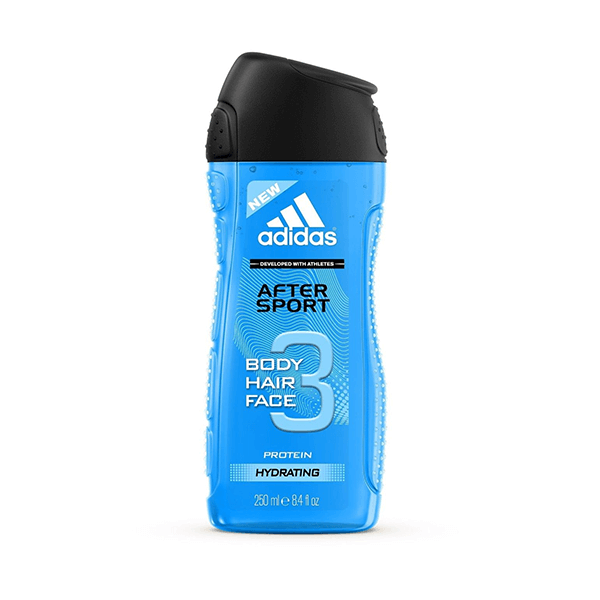 Adidas After Sport 3 In 1 Shower Gel 250ml in Sri Lanka