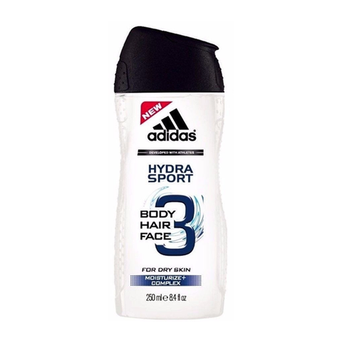 Adidas Hydra Sport 3-In-1 Shower Gel 250ml in srilanka