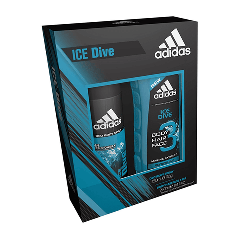 Adidas Ice Dive Body Spray & Shower Gel Duo Gift Set in Sri Lanka