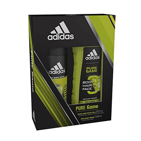 Adidas Pure Game Body Spray & Shower Gel Duo Gift Set in Sri Lanka