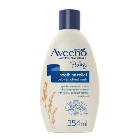 Aveeno Baby Soothing Relief Baby Emollient Wash 354ml