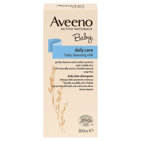 Aveeno baby daily care cleansing milk 300ml in sri lanka.