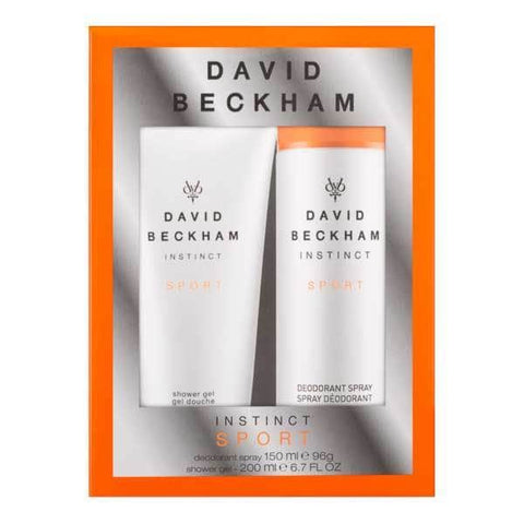 Beckham instinct sport body spray & hair & body wash duo Set in sri lanka