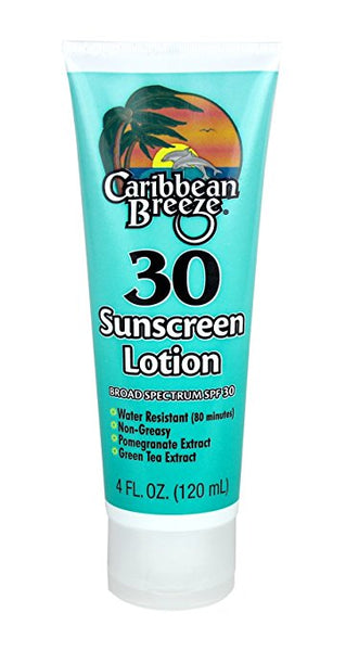 Caribbean Breeze-SPF 30 SunScreen Lotion 120ml in sri lanka