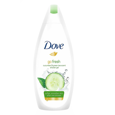 DOVE BODY WASH CUCUMBER & GREEN TEA 500ML