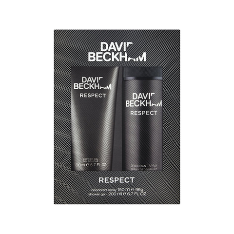 David Beckham Respect Shower Gel 200ml + Deodorant Spray 150ml Gift Set in Sri Lanka