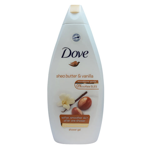 Dove Purely Pampering Shea Butter & Vanilla Shower Gel 500ml