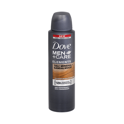 Dove Men Talc + Sandalwood 48h Antiperspirant Deodorant Spray 150ml in Sri Lanka