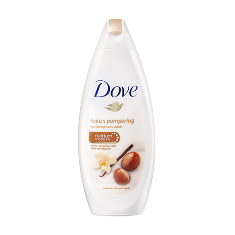 Dove Shea Butter With Warm Vanilla Body Wash 250ml in Sri Lanka