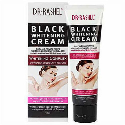 Dr. Rashel Black Whitening Cream For Body And Whitening Cream100ml