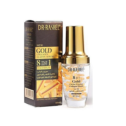 Dr.Rashel New Gold Collagen Elastin Serum 8 in 1 Face Serum