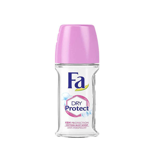 Fa Roll On Dry Protect Cotton Mist 50ml