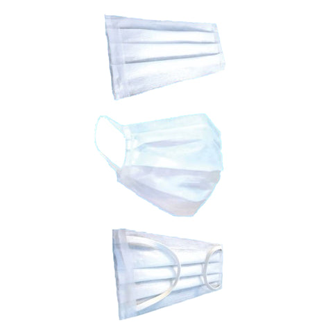 Face Mask Re Usable 3ply Made in Sri Lanka (Pack of 4)
