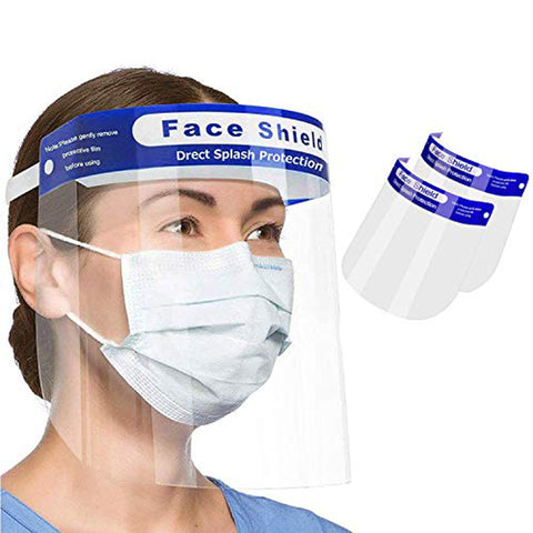 Direct Splash Protection Face Shield (Pack of 5)