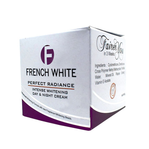 French white perfect radiance Day and Night Cream